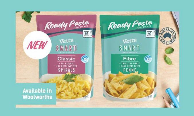 NEW Vetta Ready Pasta