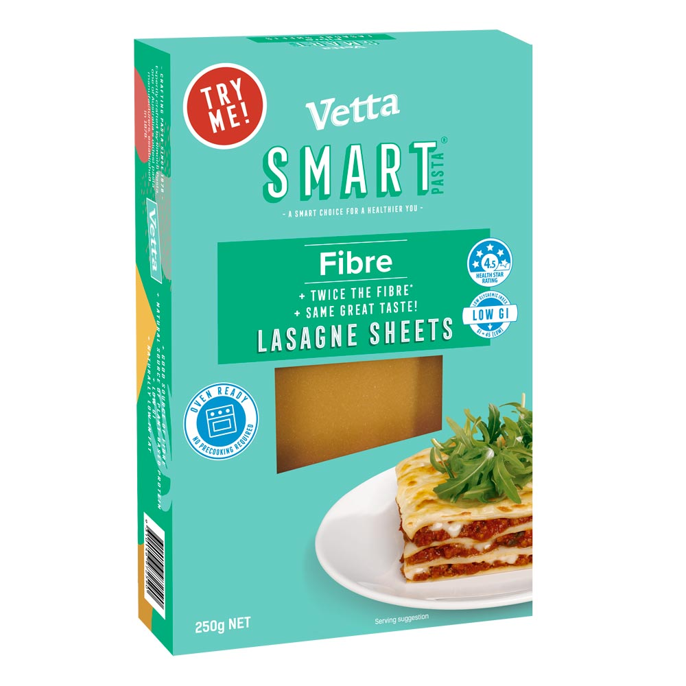 SMART Fibre Instant Lasagne Sheets