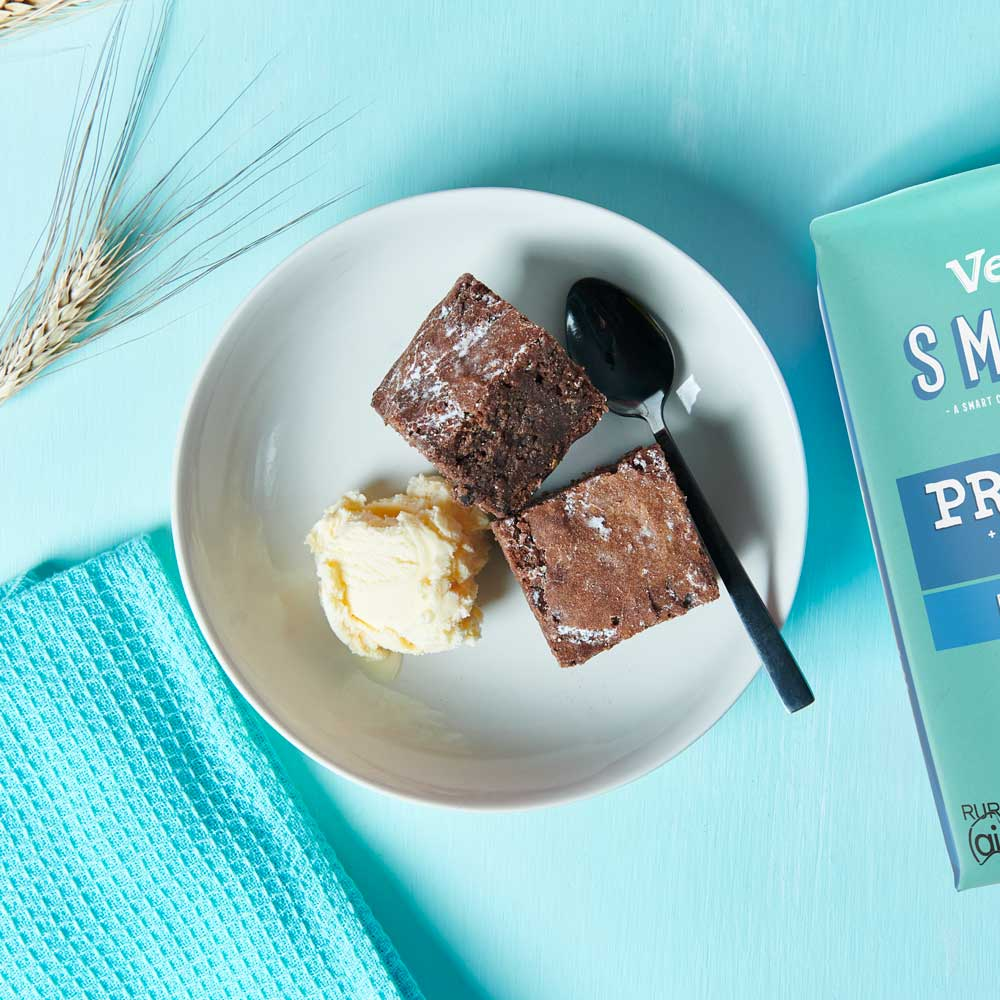 Double Chocolate Brownies with Vetta SMART Protein Flour
