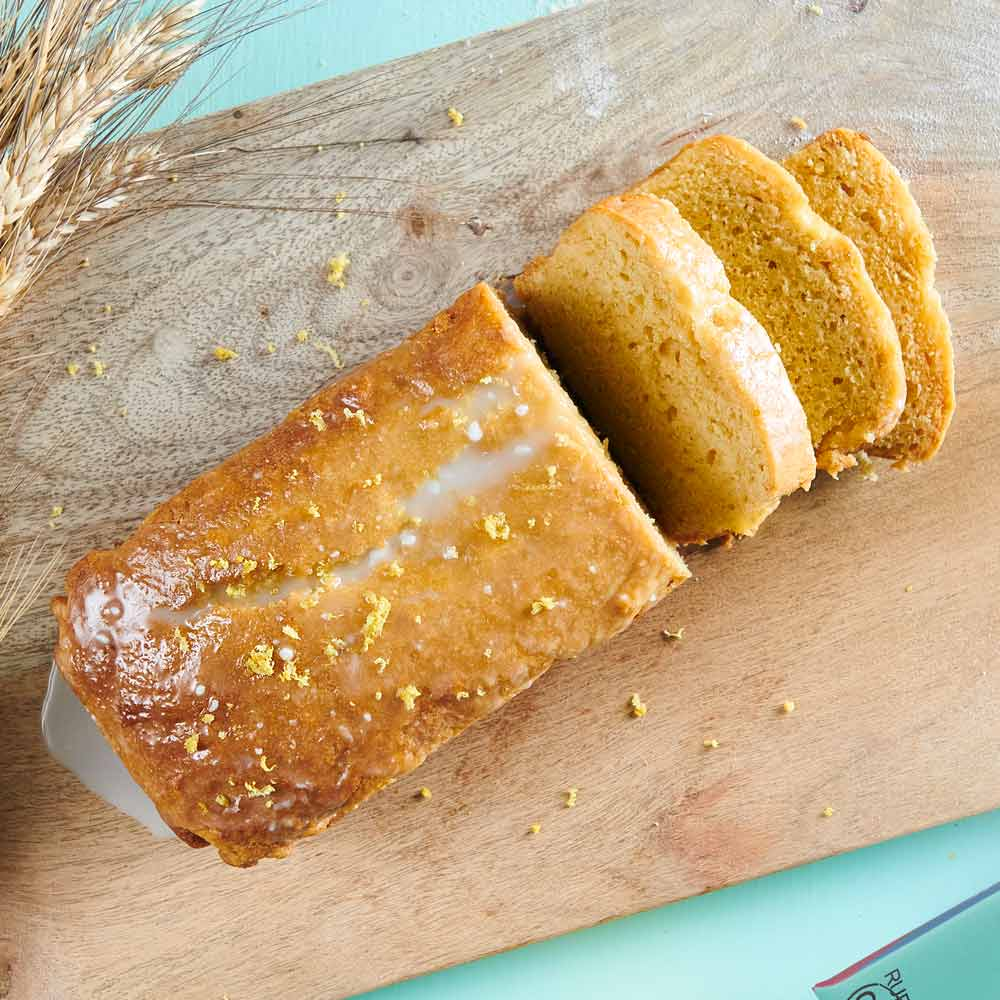 Lemon Pound Cake with Vetta SMART Protein Flour