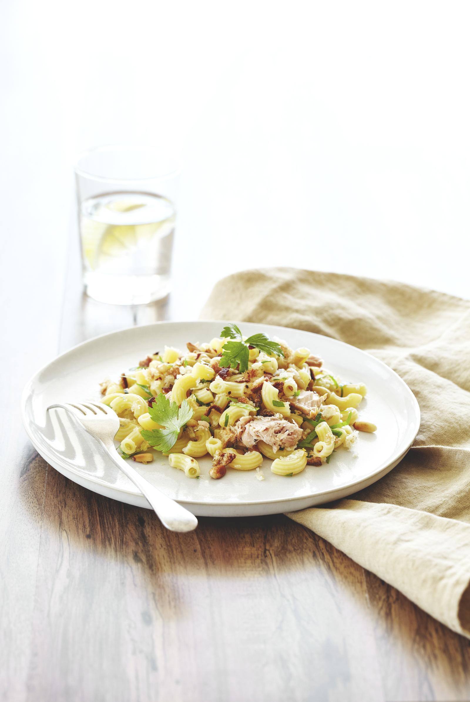 Lemon Tuna Super Veg Pasta