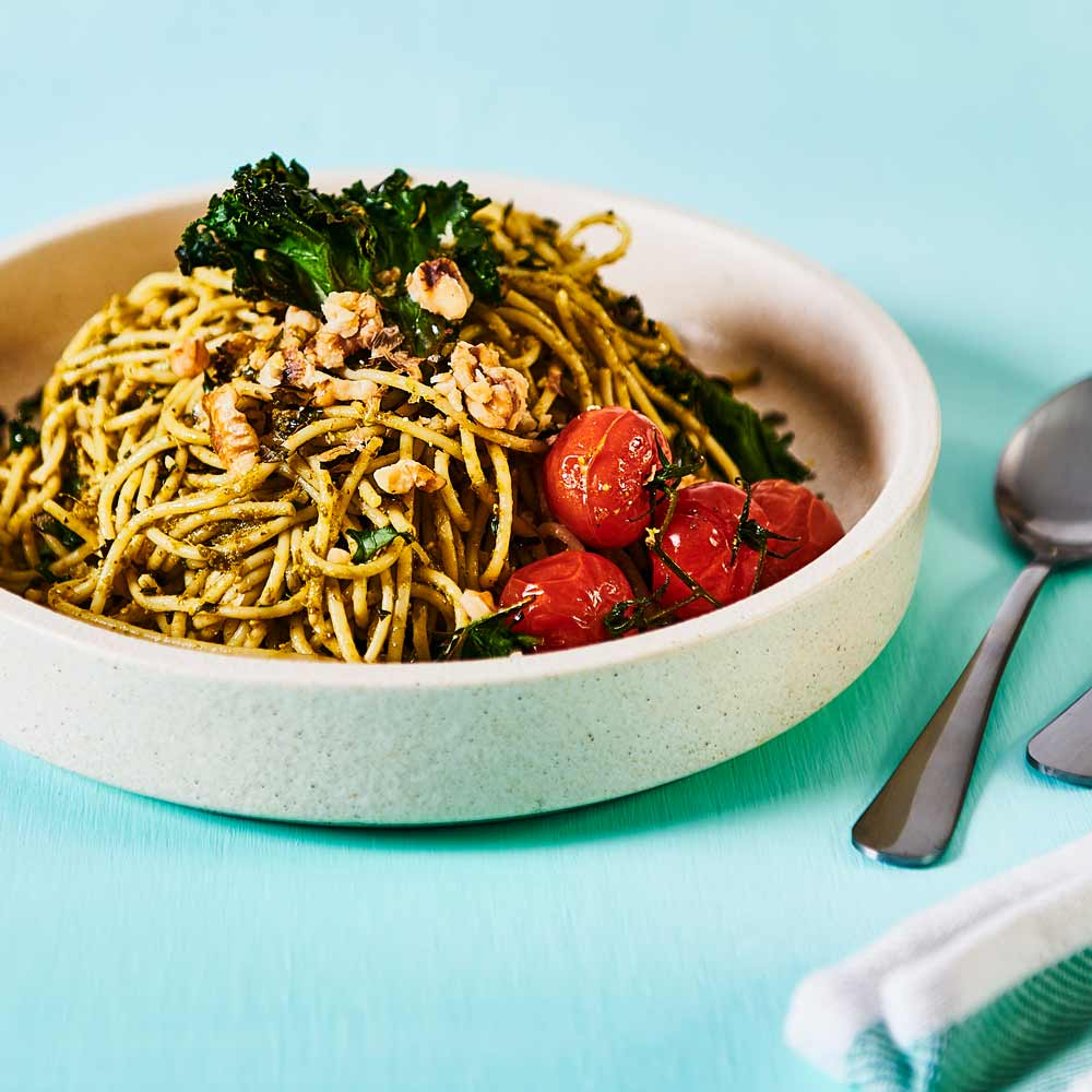 SMART Fibre Spaghetti Basil Pesto with Kale
