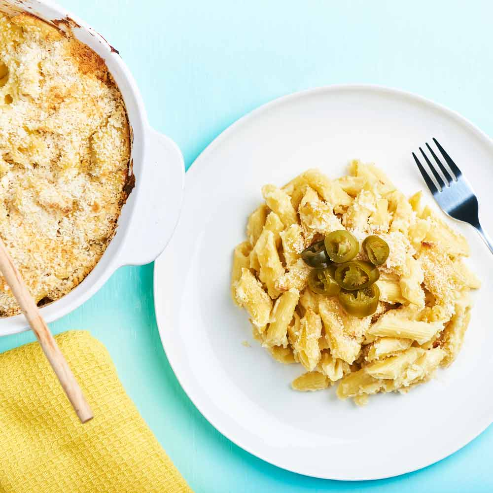 Jalapenos Cheesy Bake with Vetta Penne