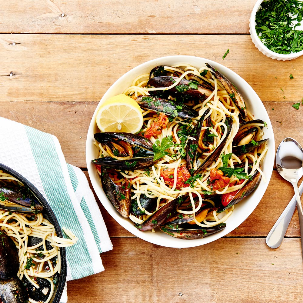 SMART Fibre Spaghetti with Mussels