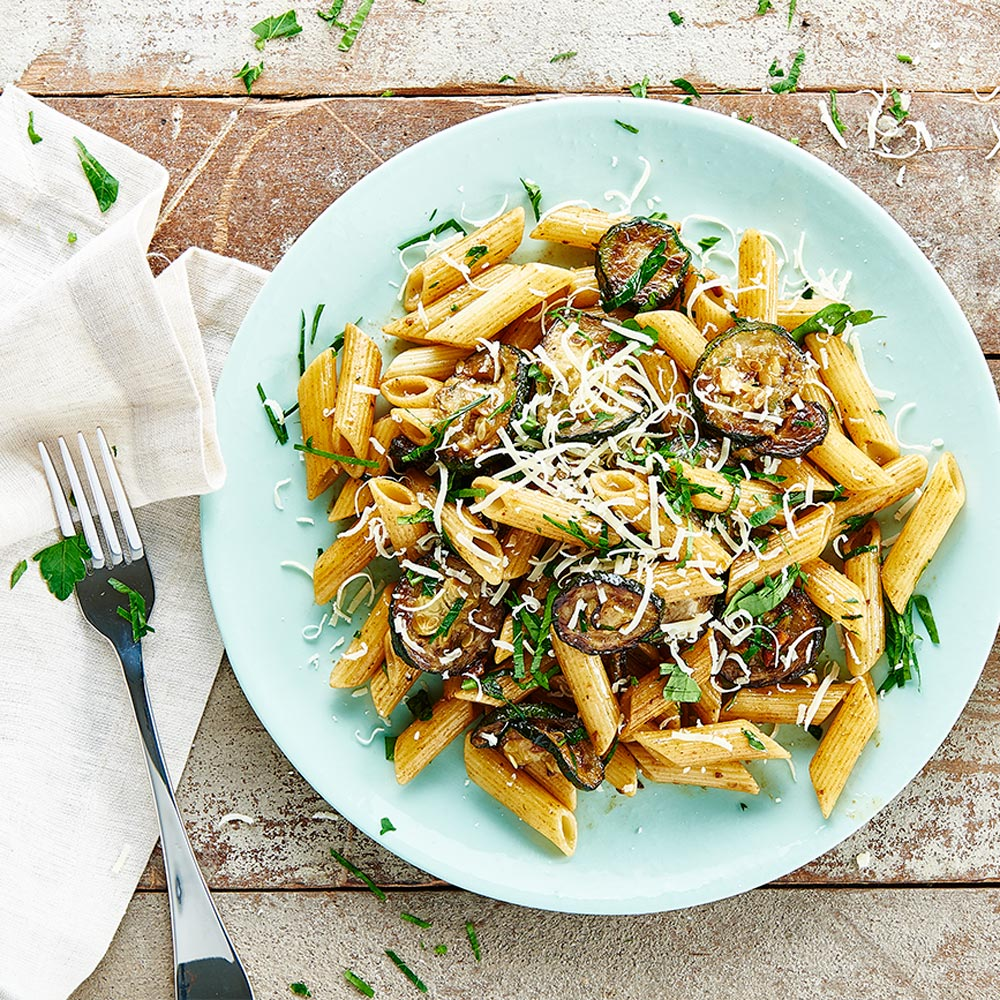 Neil Perry's Penne with Zucchini and Butter