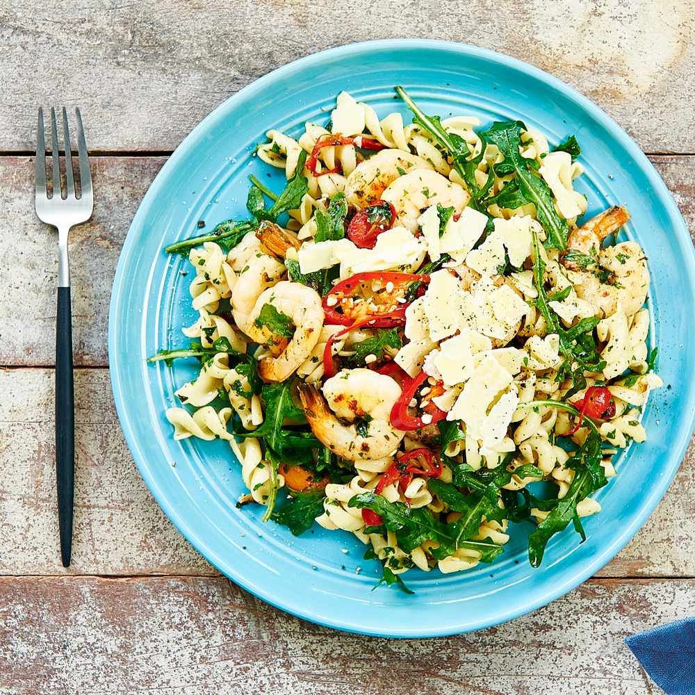 Fresh Prawn, Chilli & Rocket with SMART Fibre Pasta