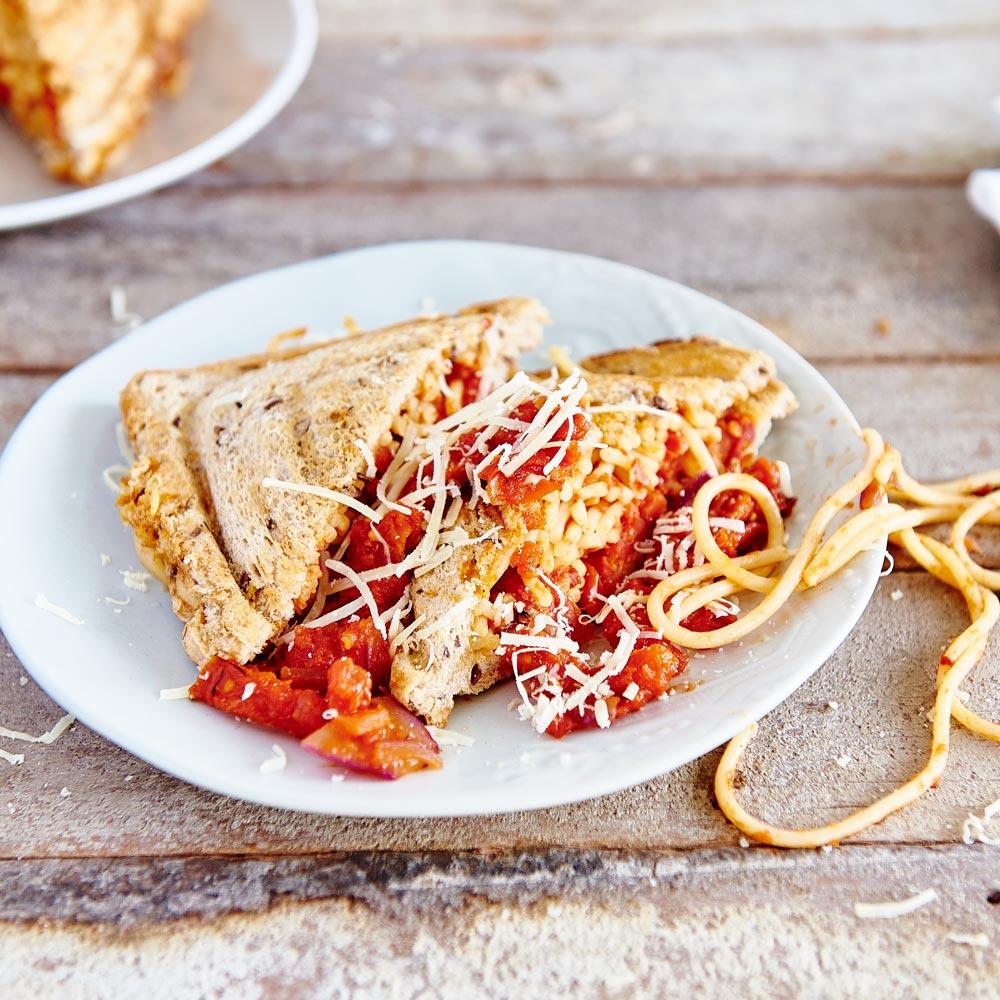 Spaghetti Jaffle