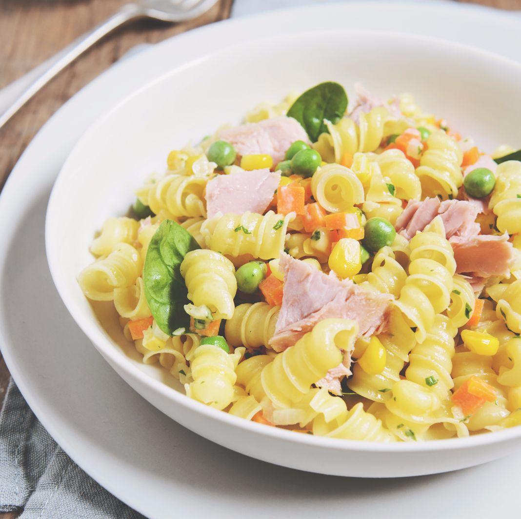 Creamy Tuna Rollini